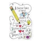 Teacher Touches Future