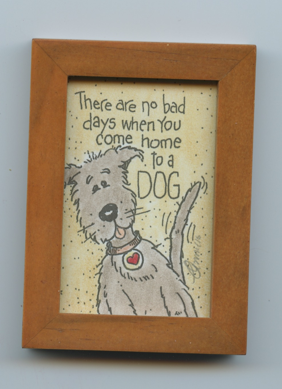 home to a dog
